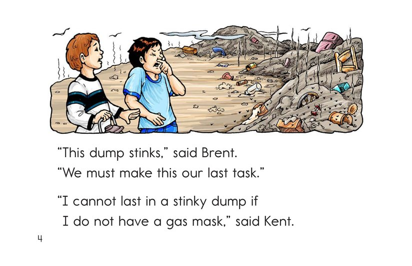 Book Preview For Lost in the Dump Page 4