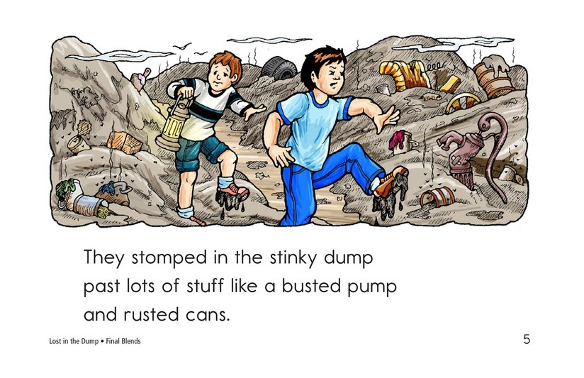 Book Preview For Lost in the Dump Page 5