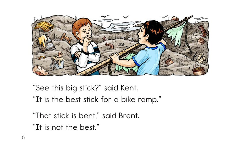 Book Preview For Lost in the Dump Page 6