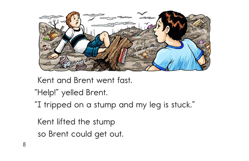Book Preview For Lost in the Dump Page 8