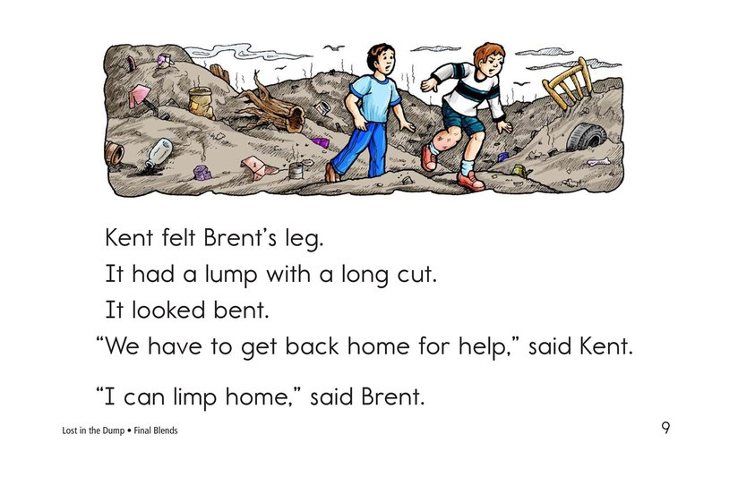 Book Preview For Lost in the Dump Page 9