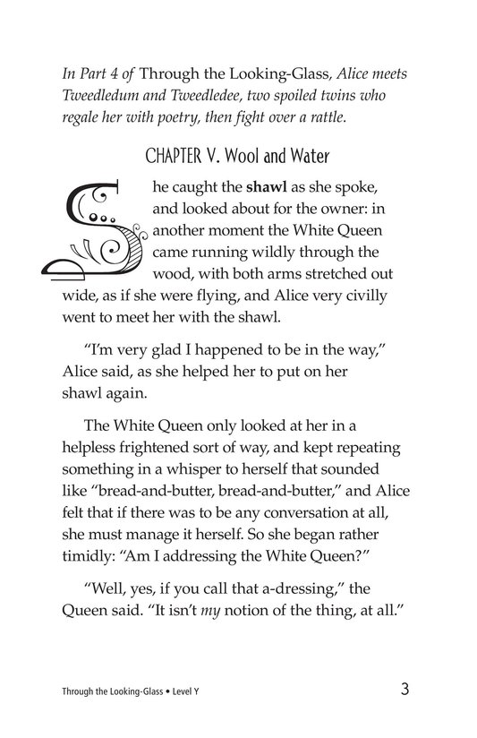 Book Preview For Through the Looking Glass (Part 5) Page 3