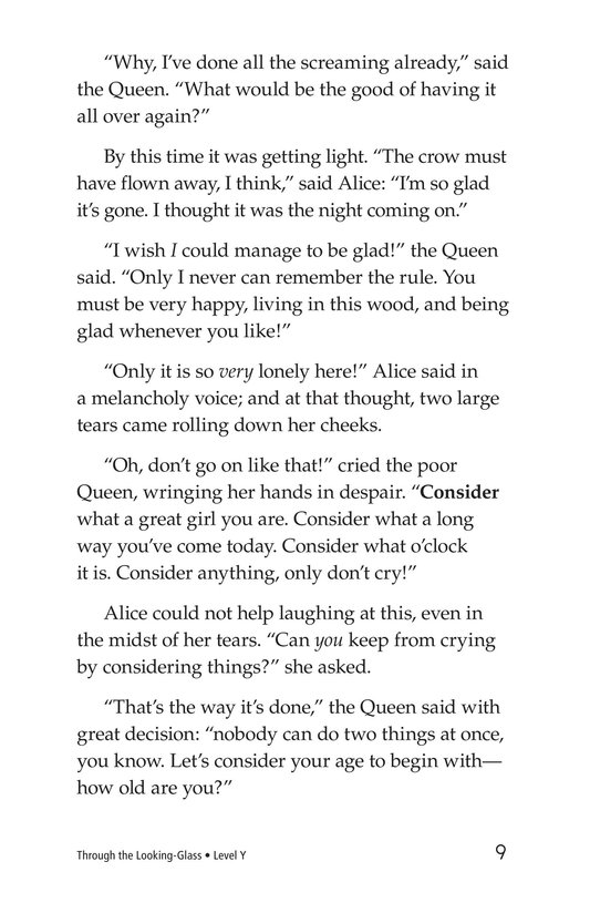 Book Preview For Through the Looking Glass (Part 5) Page 9