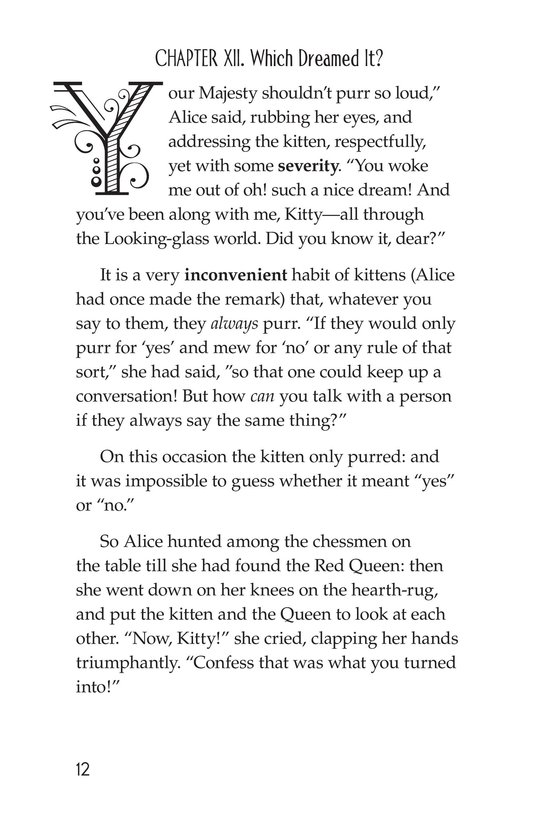Book Preview For Through the Looking Glass (Part 10) Page 12