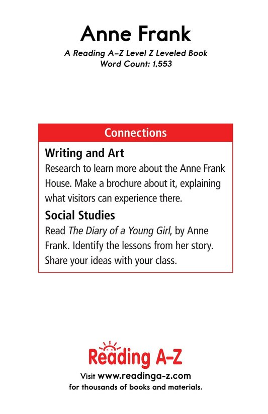 Book Preview For Anne Frank Page 17
