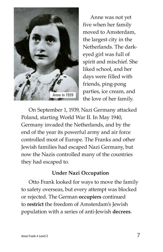 Book Preview For Anne Frank Page 7