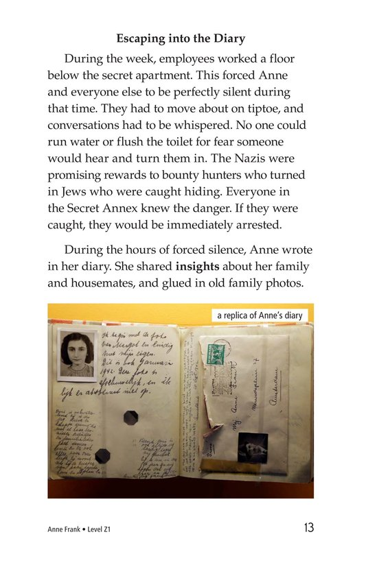 Book Preview For Anne Frank Page 13
