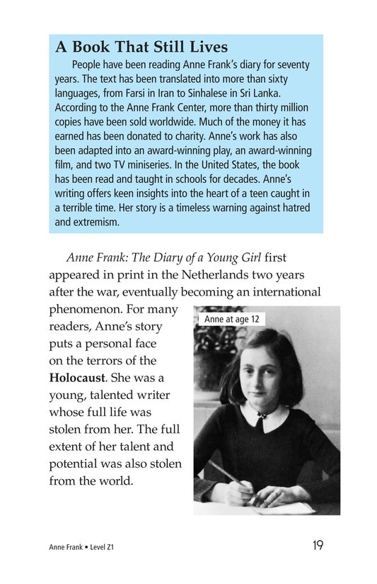 Book Preview For Anne Frank Page 19