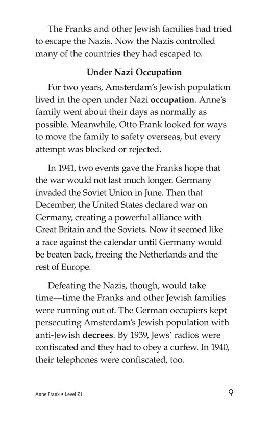 Book Preview For Anne Frank Page 9