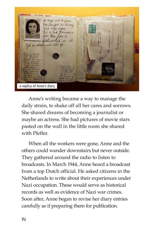 Book Preview For Anne Frank Page 14