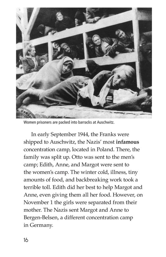 Book Preview For Anne Frank Page 16