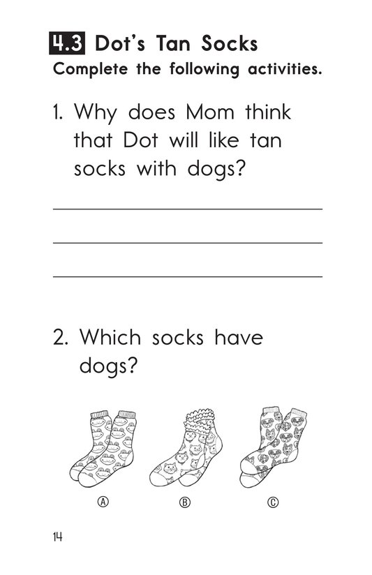 Book Preview For Decodable Passages Set 4 Book 1 Page 14