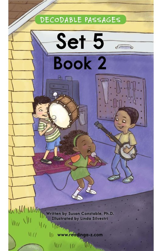 Book Preview For Decodable Passages Set 5 Book 2 Page 1