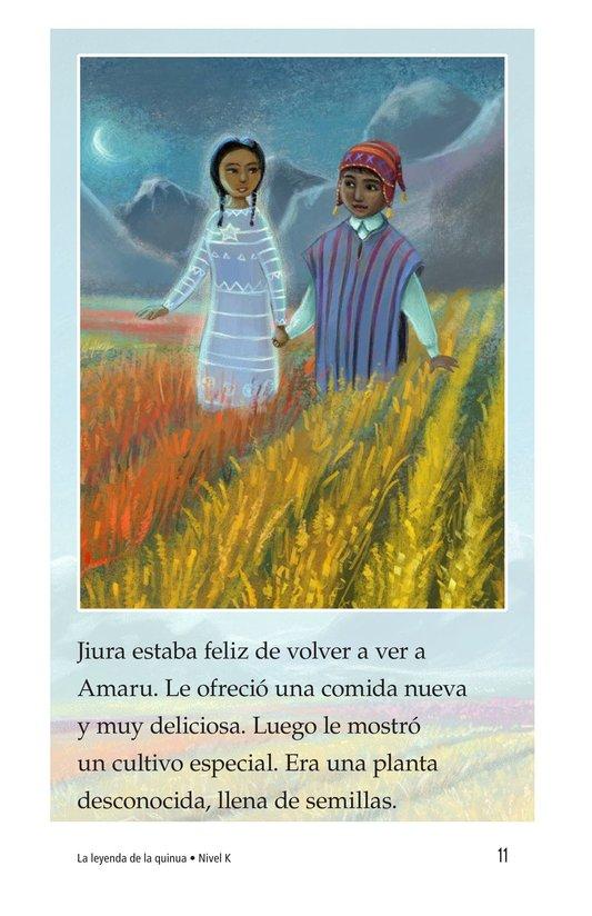 Book Preview For La leyenda de la quinua Page 11