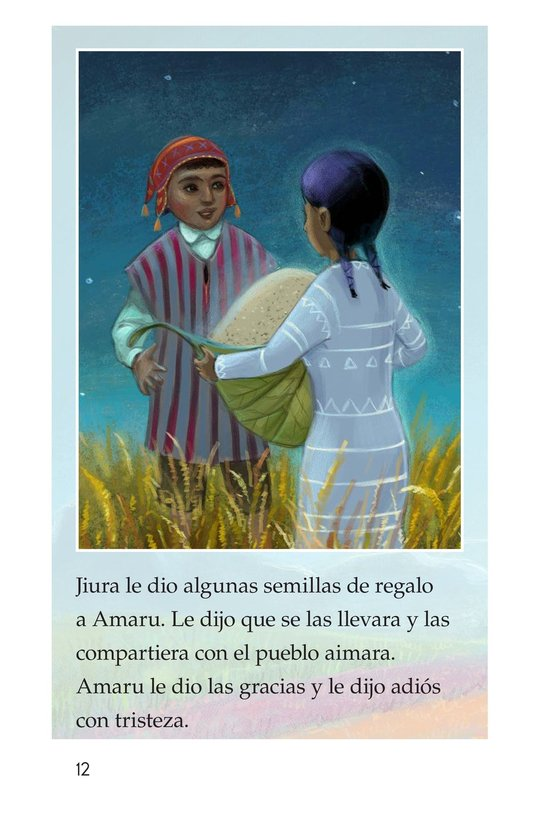 Book Preview For La leyenda de la quinua Page 12