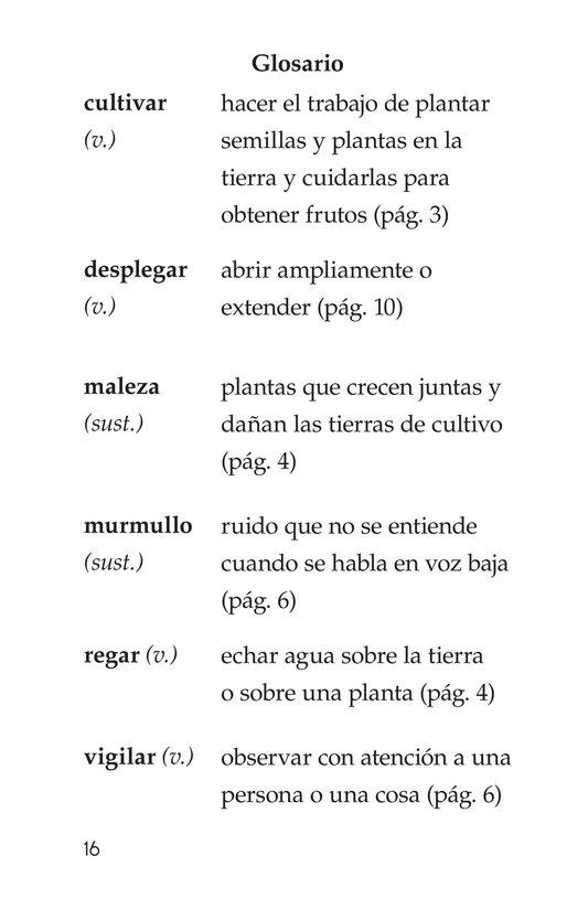 Book Preview For La leyenda de la quinua Page 16