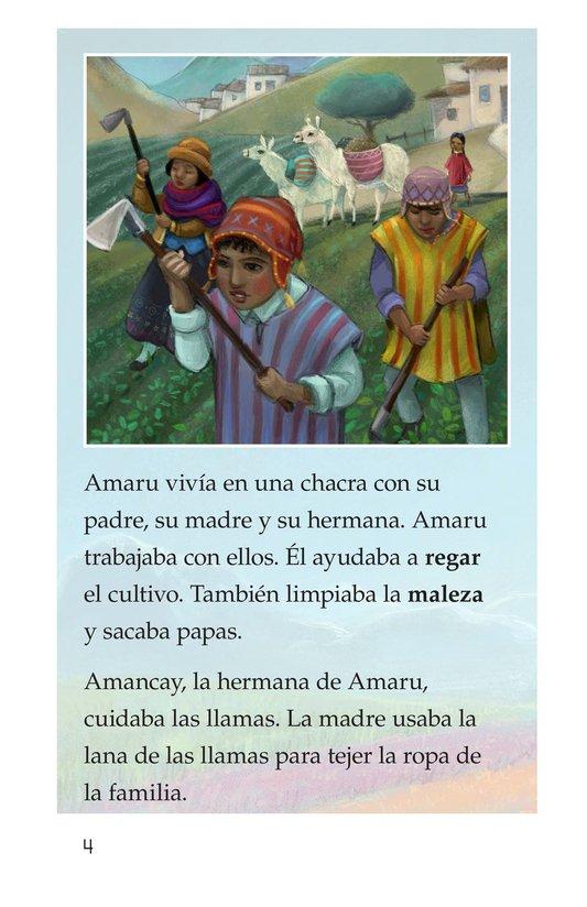 Book Preview For La leyenda de la quinua Page 4