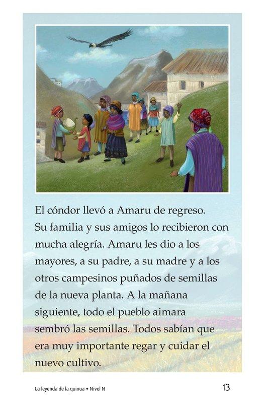 Book Preview For La leyenda de la quinua Page 13