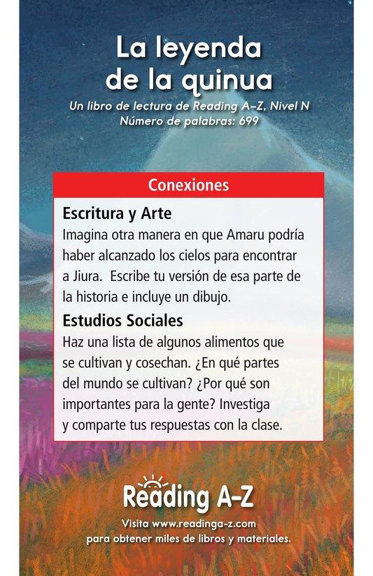 Book Preview For La leyenda de la quinua Page 17