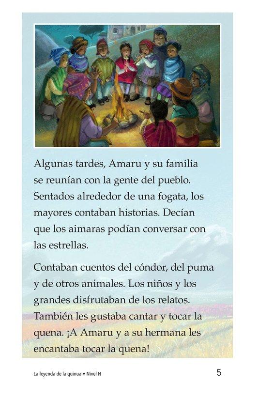 Book Preview For La leyenda de la quinua Page 5