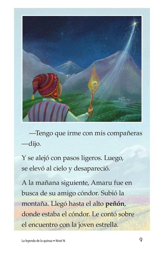 Book Preview For La leyenda de la quinua Page 9