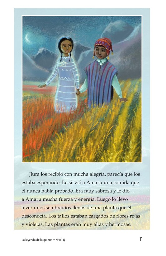 Book Preview For La leyenda de la quinua Page 11