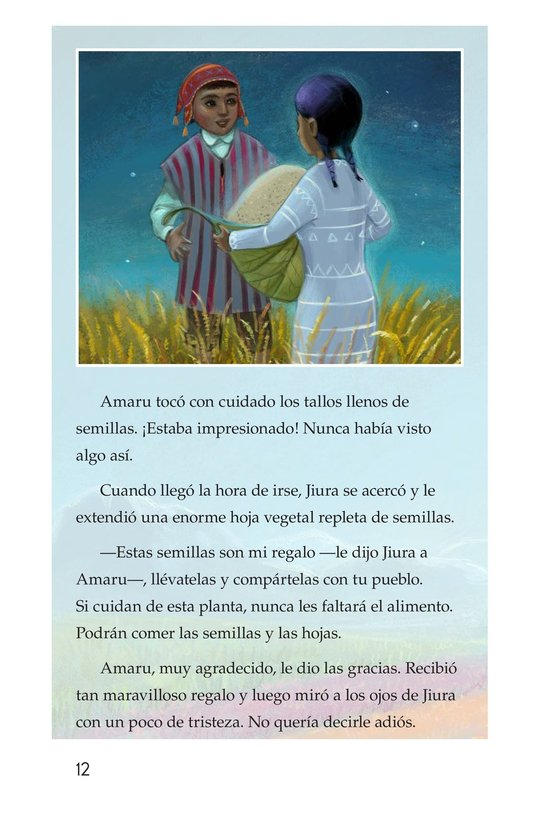 Book Preview For La leyenda de la quinua Page 12