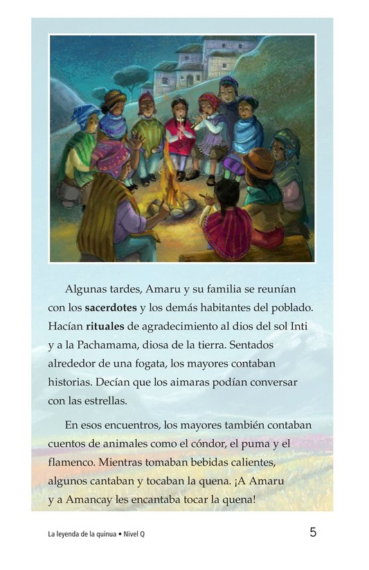 Book Preview For La leyenda de la quinua Page 5
