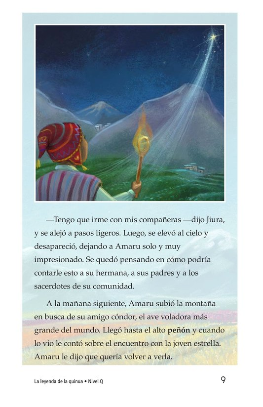 Book Preview For La leyenda de la quinua Page 9