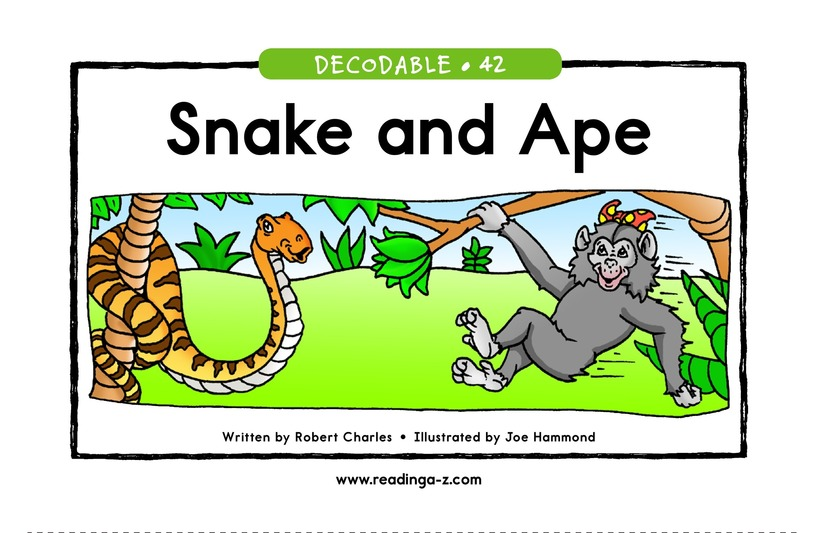 Book Preview For Snake and Ape Page 1
