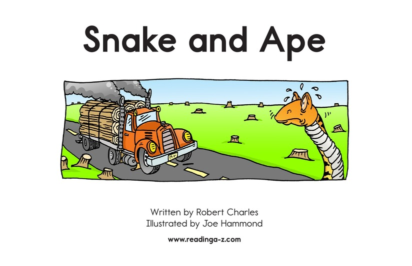 Book Preview For Snake and Ape Page 2