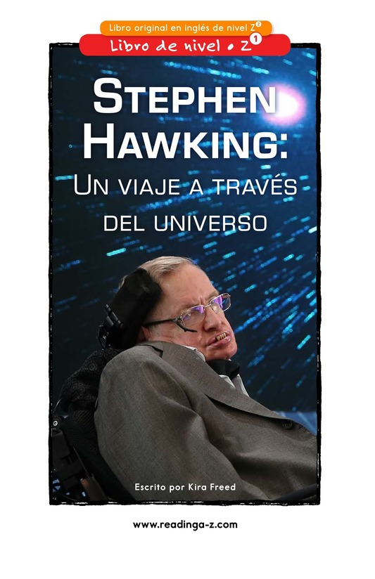 Book Preview For Stephen Hawking: Traveling Through the Universe Page 0