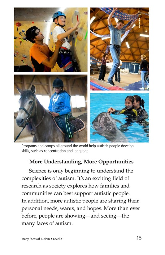 Book Preview For Many Faces of Autism Page 15