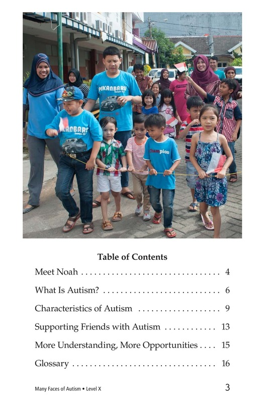 Book Preview For Many Faces of Autism Page 3