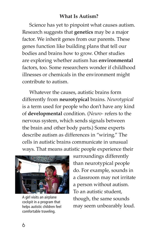 Book Preview For Many Faces of Autism Page 6