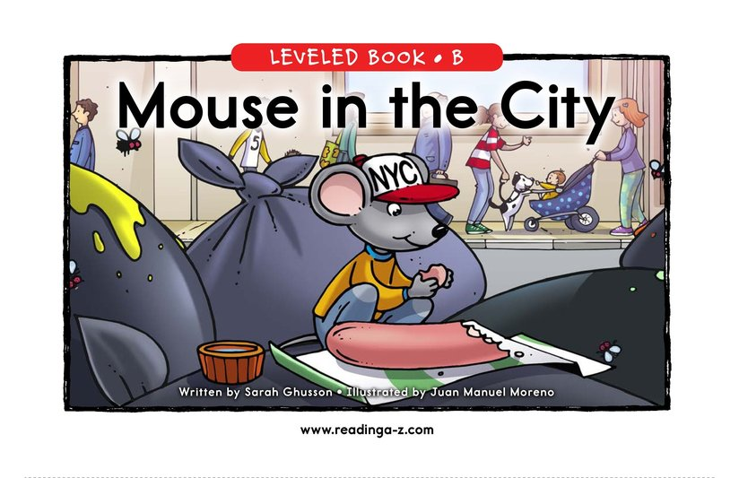 Book Preview For Mouse in the City Page 0