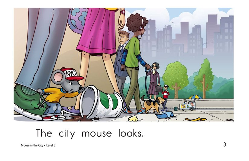 Book Preview For Mouse in the City Page 3