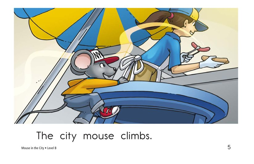 Book Preview For Mouse in the City Page 5