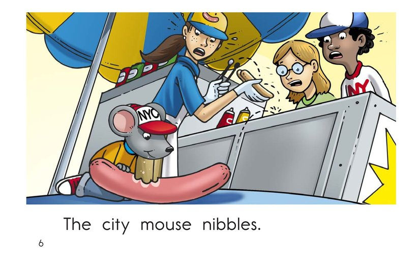 Book Preview For Mouse in the City Page 6
