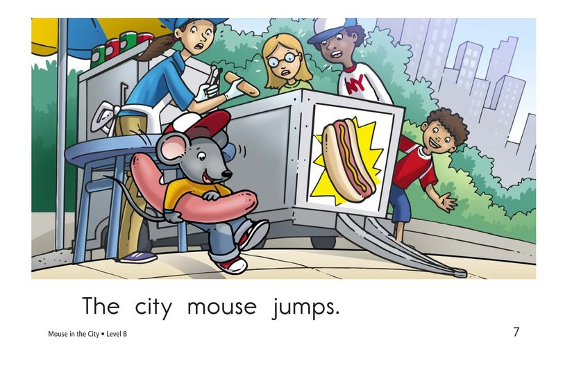 Book Preview For Mouse in the City Page 7