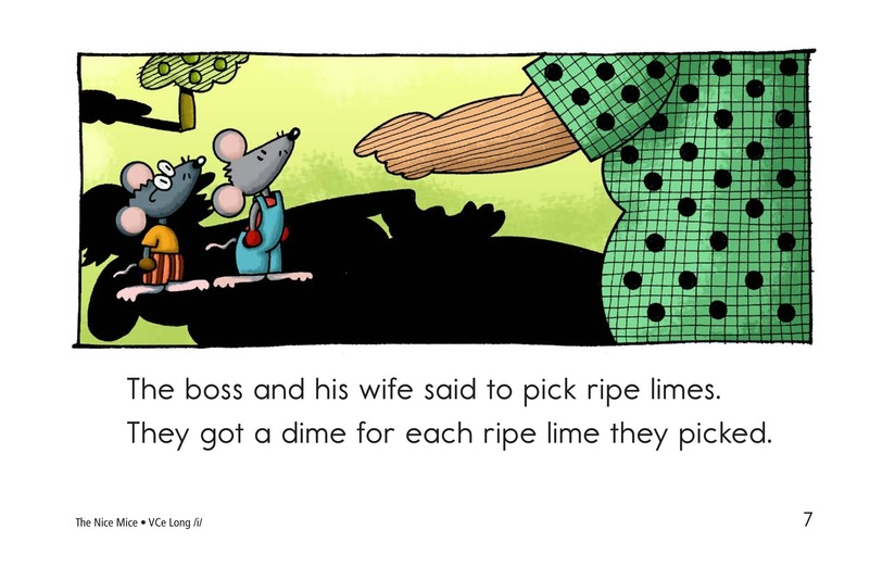 Book Preview For The Nice Mice Page 7