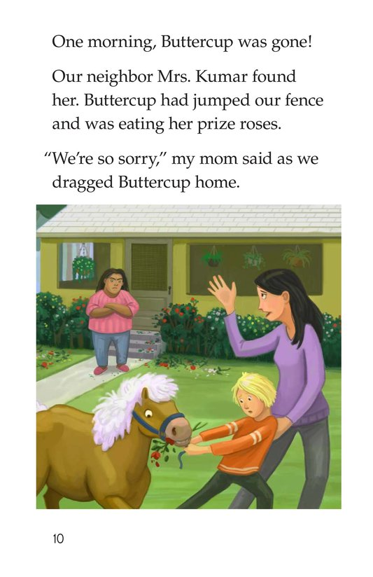 Book Preview For One Pony Too Many Page 10