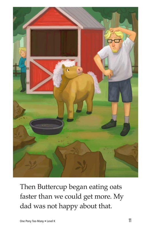 Book Preview For One Pony Too Many Page 11