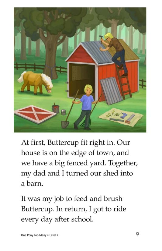 Book Preview For One Pony Too Many Page 9