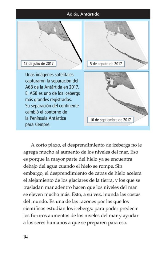 Book Preview For Incredible Icebergs Page 14