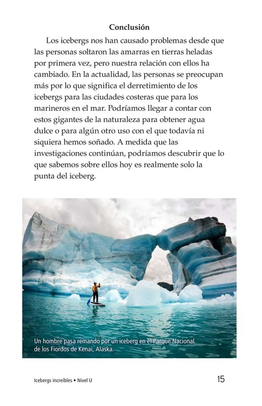 Book Preview For Incredible Icebergs Page 15