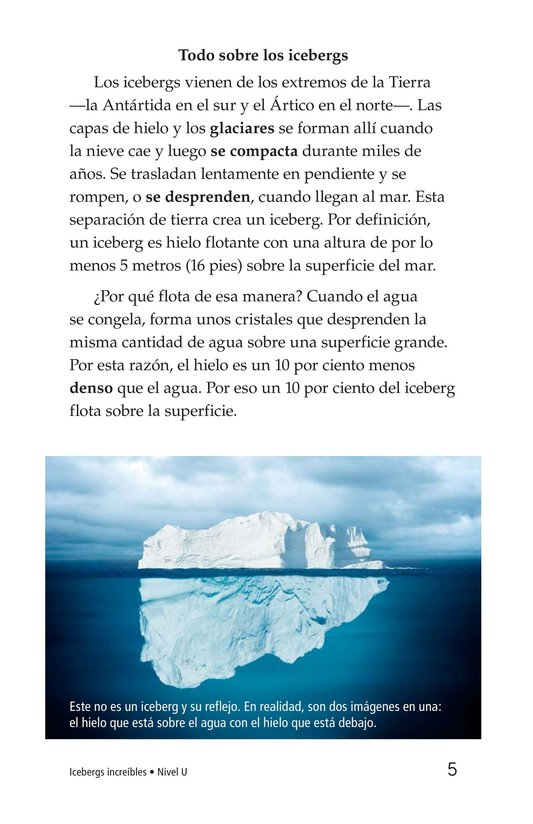 Book Preview For Incredible Icebergs Page 5
