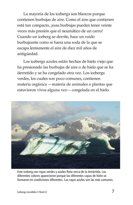 Book Preview For Incredible Icebergs Page 7