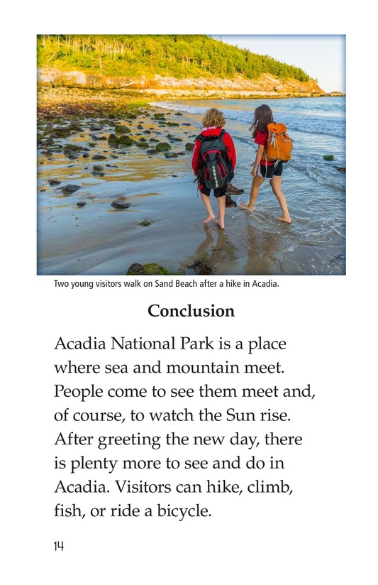 Book Preview For Acadia National Park Page 14