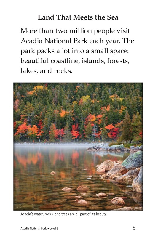 Book Preview For Acadia National Park Page 5